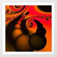 Orange Blossom Art Print