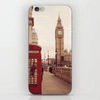 London Booth iPhone & iPod Skin