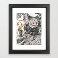 The Silver Cord Framed Art Print