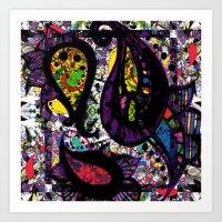 Paisley Chaos Art Print