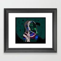 Radha Framed Art Print