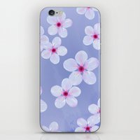 Cherry Blossoms - Painti… iPhone & iPod Skin