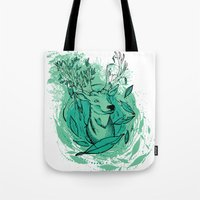 THE WOODS WHERE YOU LIVE. Tote Bag