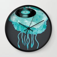 Deep Sea Audiophile Wall Clock