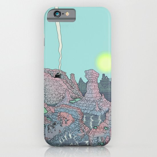 There be Dragons iPhone & iPod Case