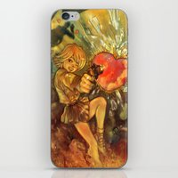 Straight to Your Heart! iPhone & iPod Skin
