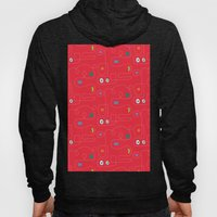 Red Bicycle Hoody