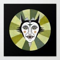 Cat Color Wheel No. 2 Canvas Print