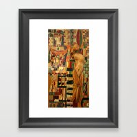 Danae Framed Art Print