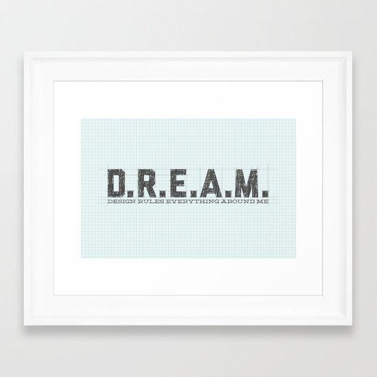 Design Rules Everything Around Me Framed Art Print