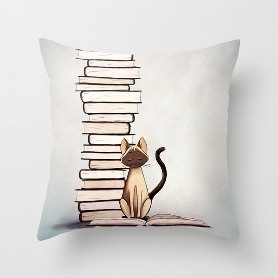 The Reader | Bookish Throw Pillows