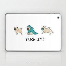 PUG, PUGS (great on teeshirts)! Laptop & iPad Skin