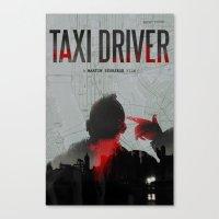 Taxi Driver Canvas Print