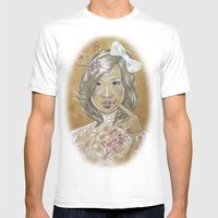 Kawaii Culture Mens Fitted Tee White SMALL