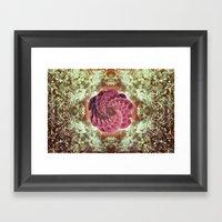 Violet Femme Framed Art Print
