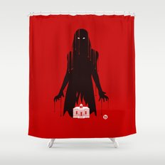 Carrie (Red Collection) Shower Curtain