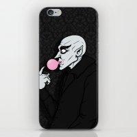Popping Bubblegum Bubble… iPhone & iPod Skin