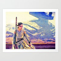 Rey Solo Destroyer - The… Art Print