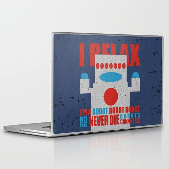 Robots Never Die Laptop & iPad Skin