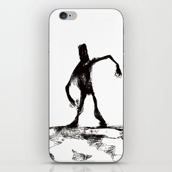 Zombie apocalypse-Walker iPhone & iPod Skin