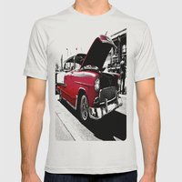 Beautiful Belair Mens Fitted Tee Silver SMALL