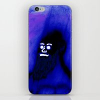 Bearded Gorilla iPhone & iPod Skin