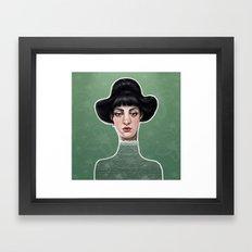 vert Framed Art Print