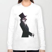 Unbearable gentleman Long Sleeve T-shirt