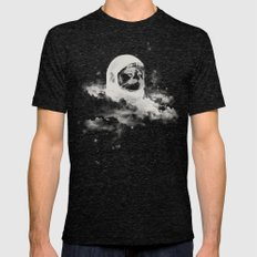 Intercatlactic Mens Fitted Tee Tri-Black SMALL