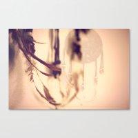 Dreamcatcher Feathers Canvas Print