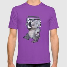 koala  Mens Fitted Tee Ultraviolet SMALL
