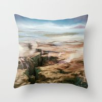 Plains Throw Pillow