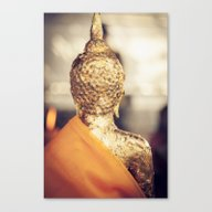 Buddha The Other Side  Canvas Print
