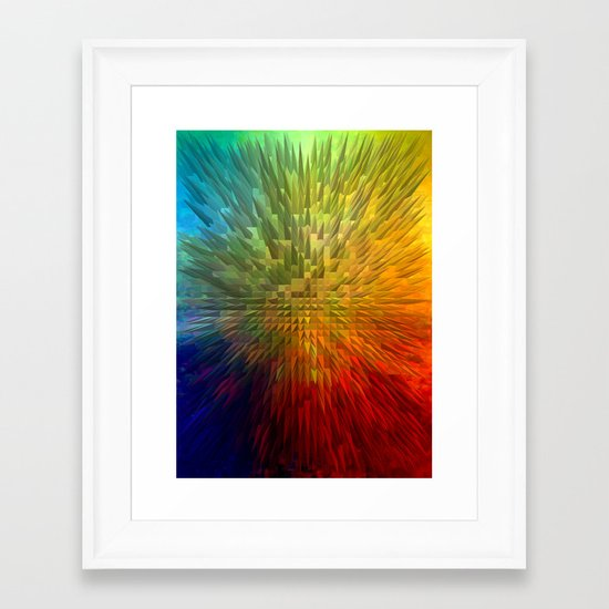 My Spectrum Framed Art Print