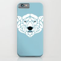iPhone & iPod Case featuring An Béar Bán (The White Bear) by Paula McGloin