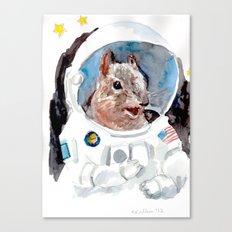 Astro-Nut Canvas Print