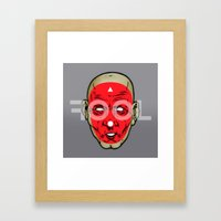 the Fool Framed Art Print