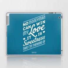 One Hit Wonder- Buffalo Stance, Blue Laptop & iPad Skin