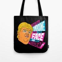 Trump Face Tote Bag