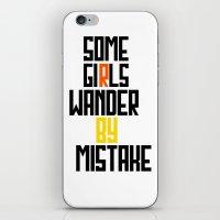 Some girls wander iPhone & iPod Skin