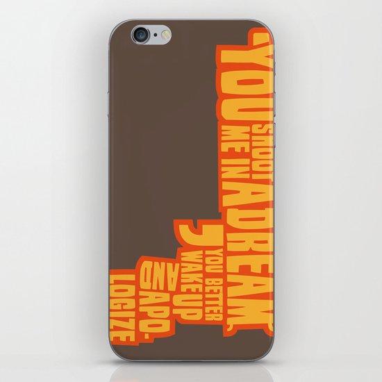 Shoot me in a dream iPhone & iPod Skin