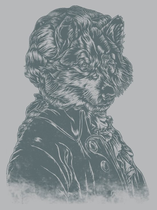 Wolf Amadeus Mozart Canvas Print