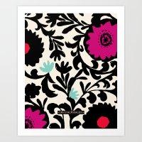 Suzanna Flower Art Print