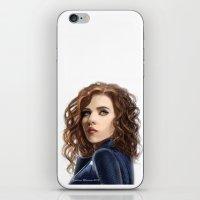 Black Widow....Avengers....Marvel.... iPhone & iPod Skin