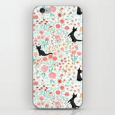 Lucky Cat Garden iPhone & iPod Skin