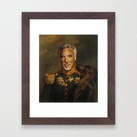 Sir Tom Jones OBE Framed Art Print
