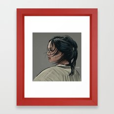 It must exciting to be a fighter, to be totally free Framed Art Print