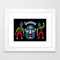 The Bandits Framed Art Print