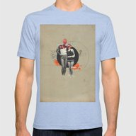 Changes  Mens Fitted Tee Tri-Blue SMALL