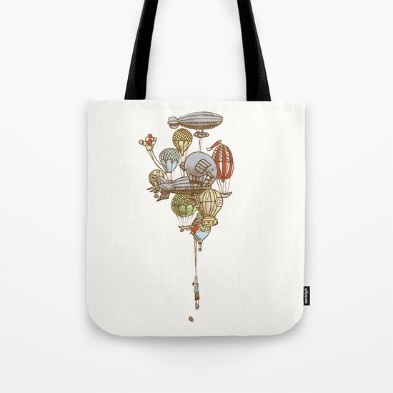 The Great Balloon Adventure Tote Bag